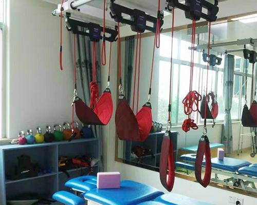 SET悬吊减重系统及八段床